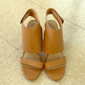 Aldo Strap Velcro Heels